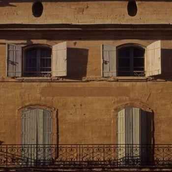 Uzes, France - windows