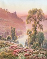 """Valley Correze""-Gaston Vincent Anglade"