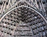 Tympanum, Strasbourg Cathedral  (large)