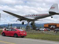 Outside of Whitehorse, Yukon airport