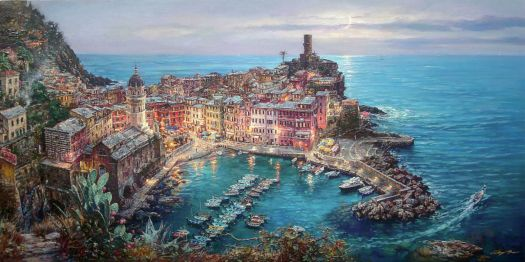 Moonlight in Vernazza - Cao Yong