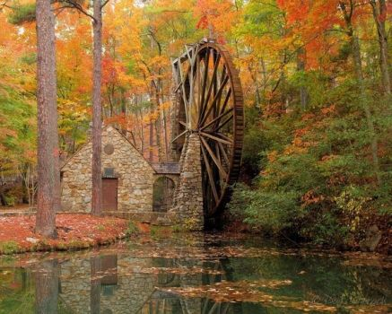 The Old Mill at Berry College, Rome, GA - built in 1930