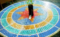 Mosaic table!!