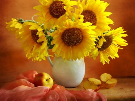 Georgeous sunflowers