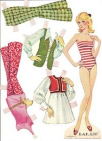 Paper Doll   ~ Barbie