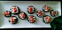 chocolate strawberry cheese cake cookies