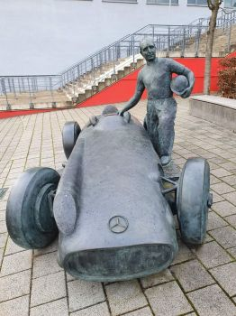 Fangio Denkmal Nürburgring