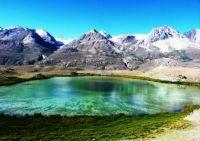 Colorful Lake In Lashkargaz, Brogil Valley, Pakistan