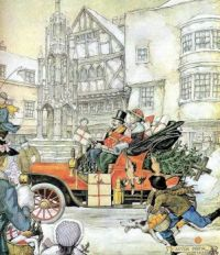 Dutch artist Anton Pieck #82