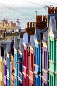 Colourful Houses of Brighton