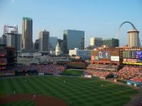 St. Louis Skyline from Busch