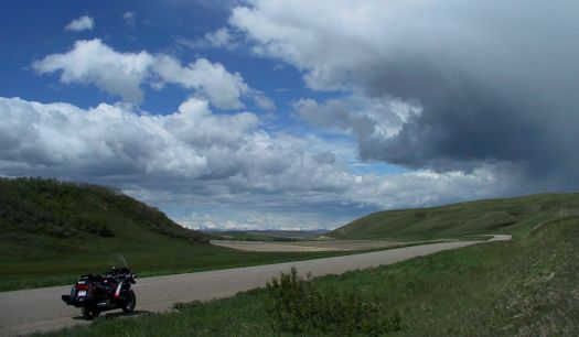 Cruising the backroads of Southwestern Alberta