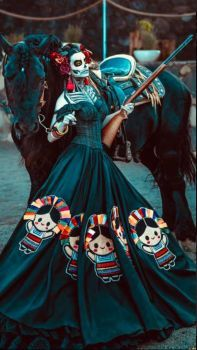 Miss Mexico 2020 looking like something out of a fantasy western.