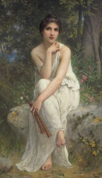 "Charles-Amable Lenoir, ""The Flute Player"""