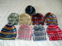 Jenny's hats.............Less pieces.
