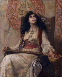 Francesc Masriera i Manovens - Oriental, 1892