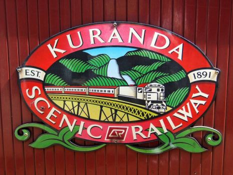 Kuranda Railway Sign