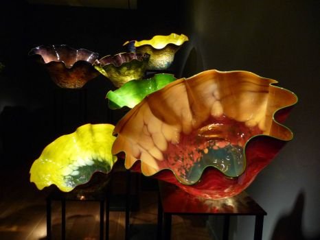 CHIHULY! Richmond!  Pleasing Color and Form