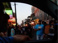 Bourbon St Was Cranking Up !