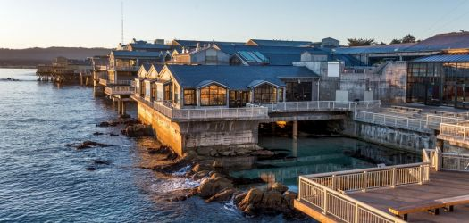 Monterey Bay Aquarium at sunrise