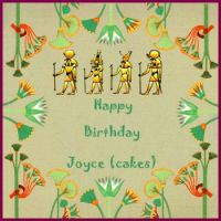 Happy Birthday Joyce (Cakes)