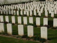 WW1 Amiens Graveyard