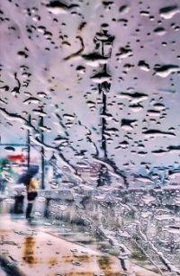 Rain on Turin