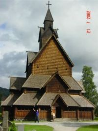 Stave Church Close Up