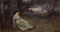"Frederick McCubbin, ""On the Wallaby Track"", 1896"