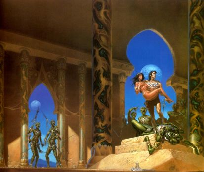 A Princess of Mars, by Michael Whelan