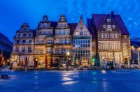 The blue hour, Bremen-Germany