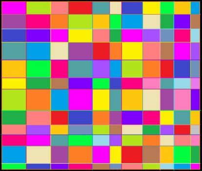 Colored Lines Grid (Smaller)