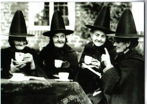 Theme: Witches Tea - The Second from the Left Reminds Me of an Aunt - May She RIP