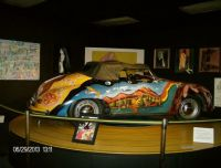 Replica of Janis Joplin's car in Port Arthur, TX