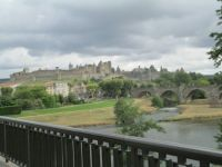 Carcassonne, France, Cathare Castle