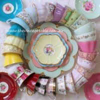 Circle of Tea Cups