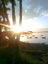 Solnedgang ved Lillebælt