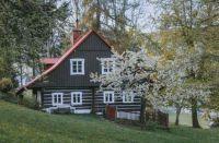 Domek ve Sklenaricich, Czechia