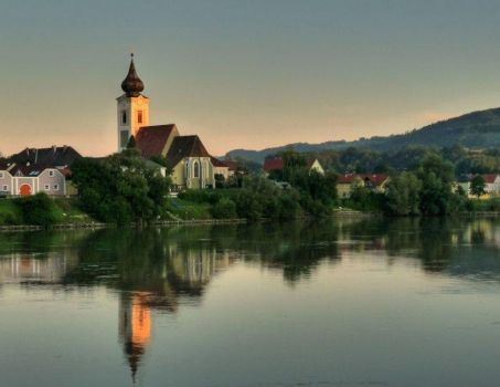 On the Danube River, Austria