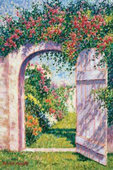 'Garden Gate' by Diane Monet