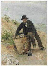 Jean-François Raffaëlli (French, 1850–1924), Le Chiffonier (The Ragpicker)