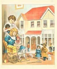 Themes Vintage ads - Dollies and Doll House