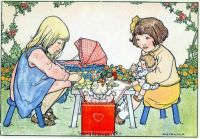A Picnic With Our Dolls