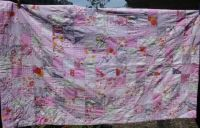 Patchwork quilt for Emma