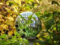 Mosaic garden globe