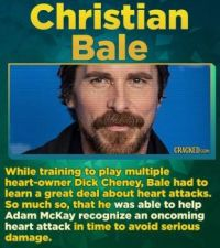 14 Famous Actors Who Have Straight-Up Saved A Life - Christian Bale