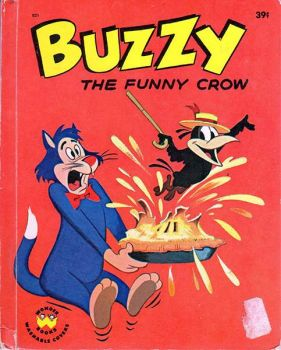 Buzzy the Funny Crow