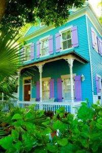 Turquoise and Purple House, Key West