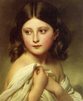 Winterhalter - a-young-girl-called-princess-charlotte - 1864