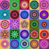 More Kolorful Kaleidos!  (XL)